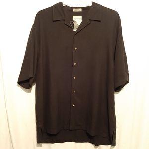 Cutter and Buck Silk Dress Casual Buttondown Shirt